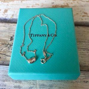 """Tiffany & Co Elsa Peretti Small Bean Necklace 16"""""""